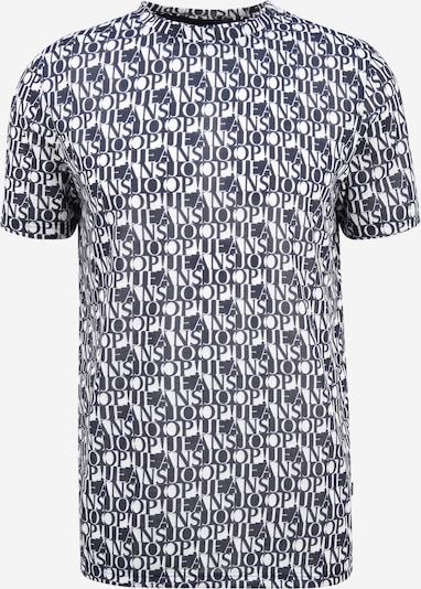 JOOP! Jeans T-Shirt en bleu marine / blanc, Vue avec produit