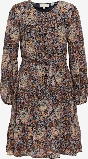 usha FESTIVAL Kleid in hellbraun / smaragd / mischfarben / altrosa, Produktansicht