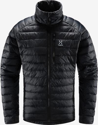 Haglöfs Outdoorjacke 'Spire Mimic' in schwarz / weiß, Produktansicht