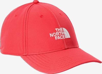 THE NORTH FACE Шапка с козирка в гренадин / бяло, Преглед на продукта