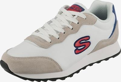 SKECHERS Baskets basses 'Og 85' en beige / bleu / rouge / blanc, Vue avec produit