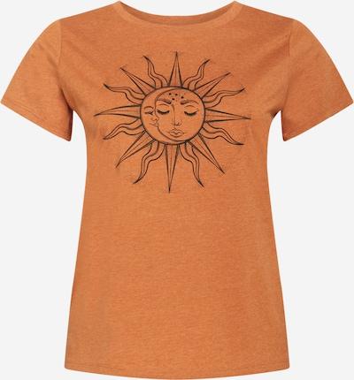 ONLY Carmakoma Paita 'LUNI' värissä antrasiitti / meleerattu oranssi, Tuotenäkymä