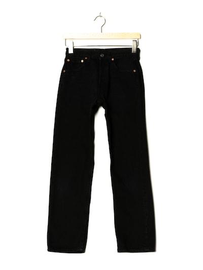 LEVI'S Jeans in 27/28 in black denim, Produktansicht