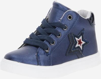 TOMMY HILFIGER Sneaker in nachtblau / rot / weiß, Produktansicht
