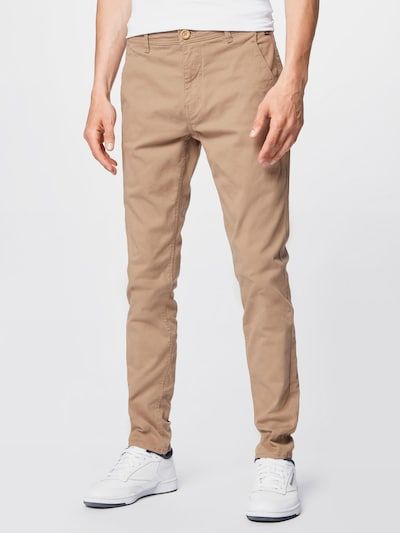 BLEND Панталон Chino в светлобежово, Преглед на модела
