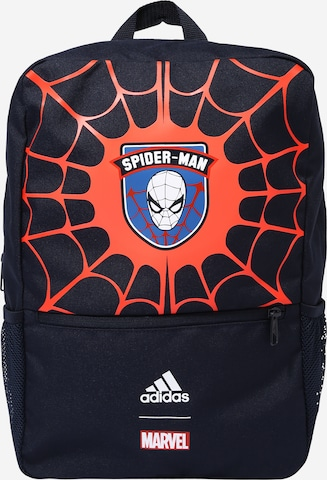 ADIDAS PERFORMANCE Sports Backpack 'Spiderman' in Blue
