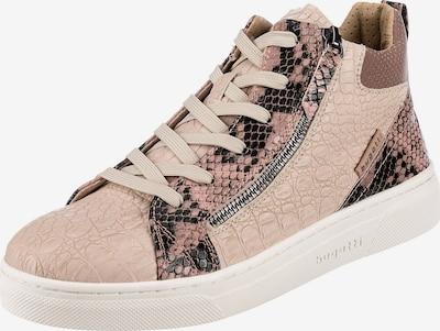 Sneaker alta 'Elea' bugatti di colore stucco / rosa / rosé / nero, Visualizzazione prodotti