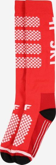 piros / fekete / fehér 4F Sportzoknik, Termék nézet