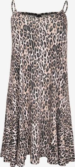 Yoek Kleid in braun / schwarz / weiß, Produktansicht
