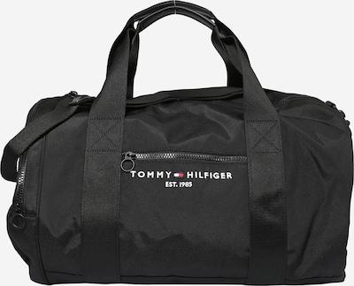 TOMMY HILFIGER Vikend torba u crna / bijela, Pregled proizvoda