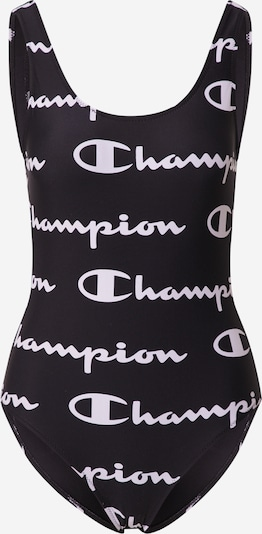 Champion Authentic Athletic Apparel Maillot de bain en noir / blanc, Vue avec produit