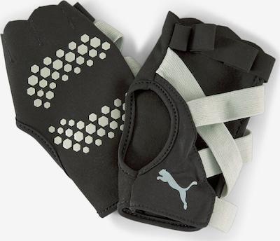 PUMA Sporthandschoenen in de kleur Zwart / Wit, Productweergave