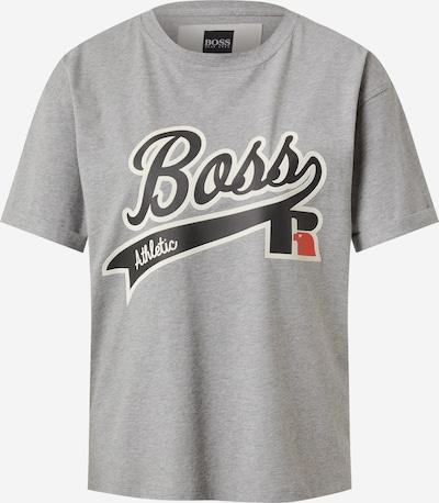 BOSS T-shirt 'C_Evarsy_Russell Athletics' i marinblå / grå / röd / vit, Produktvy