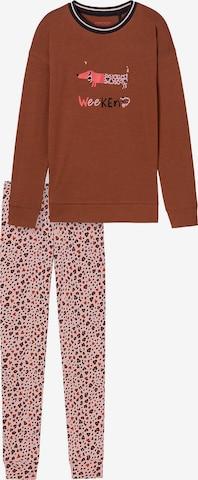 SCHIESSER Pidžaama, värv pruun