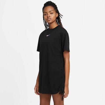 Rochie Nike Sportswear pe negru / alb, Vizualizare produs