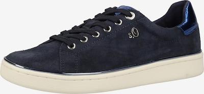 s.Oliver BLACK LABEL Sneaker in dunkelblau, Produktansicht