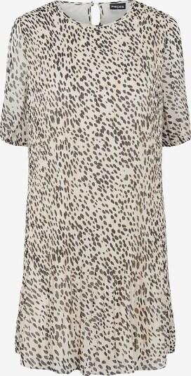 PIECES Kleid 'Leborah' in beige / pastellpink / schwarz, Produktansicht