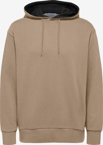 SELECTED HOMME Sweatshirt in Brown