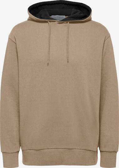 SELECTED HOMME Sweatshirt in hellbraun, Produktansicht