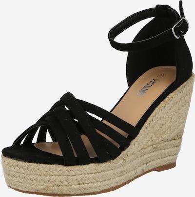 Sandale cu baretă 'Tia' Hailys pe negru, Vizualizare produs