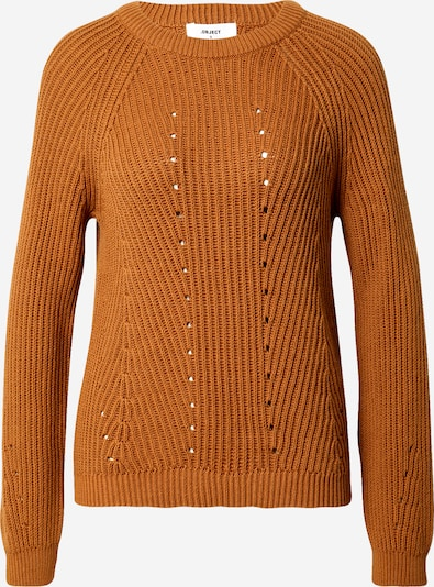 OBJECT (Tall) Pullover 'MAJA' in cognac, Produktansicht