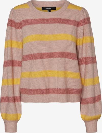 Pullover VERO MODA di colore giallo / lilla / rosa pastello, Visualizzazione prodotti