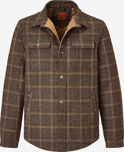 REDPOINT Button Up Shirt 'Frank' in Brown / Red, Item view