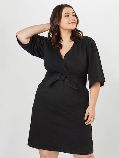 Vero Moda Curve Kleid 'Faye' in schwarz, Modelansicht