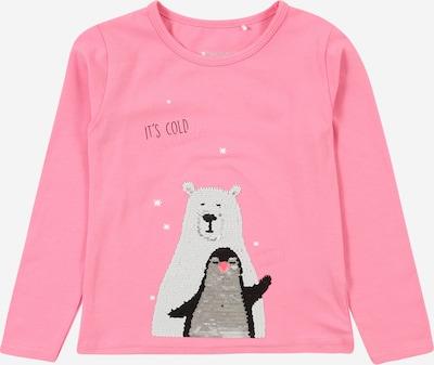STACCATO Shirt in de kleur Grijs / Lichtgrijs / Lichtroze / Zwart: Vooraanzicht