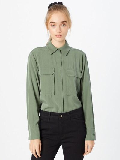 LOVJOI Bluse 'FASALT' in grün, Modelansicht
