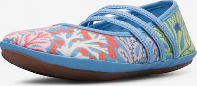 CAMPER Ballerina's ' Twins ' in de kleur Blauw, Productweergave