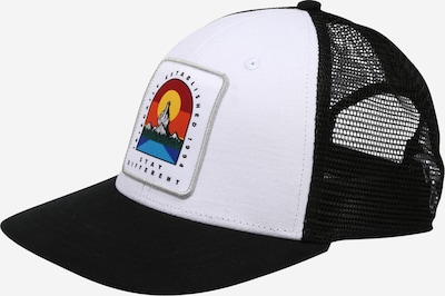 Șapcă Iriedaily pe mai multe culori / negru / alb, Vizualizare produs