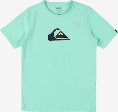 QUIKSILVER Shirt 'COMPLOGOSSYTH' in limone / mint / schwarz, Produktansicht