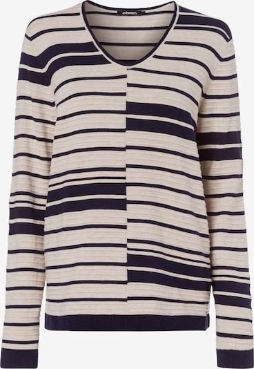 Olsen Pullover 'Cora' in beige / navy, Produktansicht