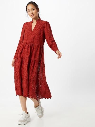 Y.A.S Kleid 'Holi' in rot, Modelansicht