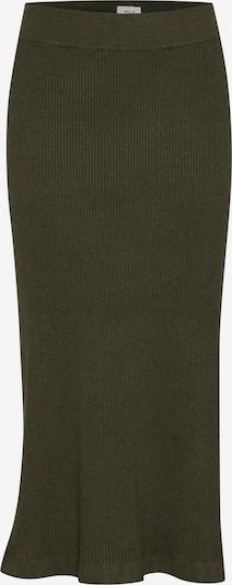 PULZ Jeans Strickrock 'PZSARA' in grün, Produktansicht