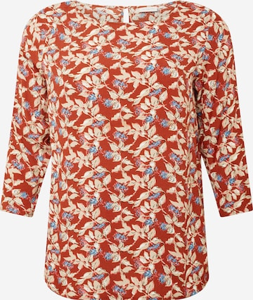 ONLY Carmakoma Shirt 'CARLANA' in Rot