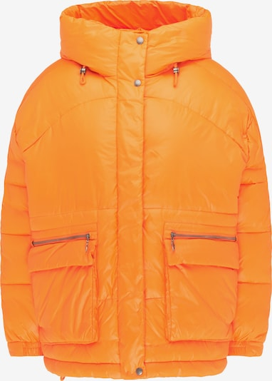 MYMO Winterjas in de kleur Sinaasappel, Productweergave
