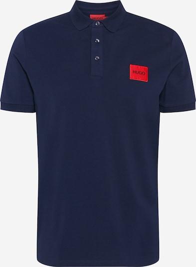 HUGO T-Krekls 'Dereso212', krāsa - naktszils / sarkans / melns, Preces skats