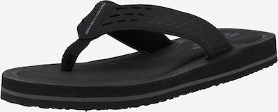 SKECHERS Sandalias de dedo 'Tocker' en negro, Vista del producto