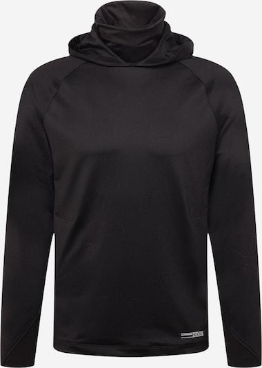 HUGO Sweatshirt 'Denergy' in Black / White, Item view