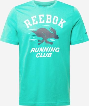 T-Shirt fonctionnel Reebok Sport en vert