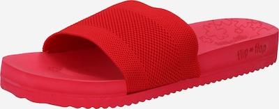 FLIP*FLOP Mule 'Pool' en rouge, Vue avec produit