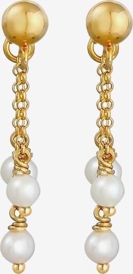 ELLI Ohrringe Perle, Perlenohrhänger in gold, Produktansicht
