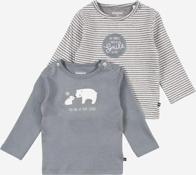 STACCATO Shirt in grau / naturweiß, Produktansicht