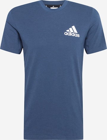 ADIDAS PERFORMANCE Funktionsshirt in Blau