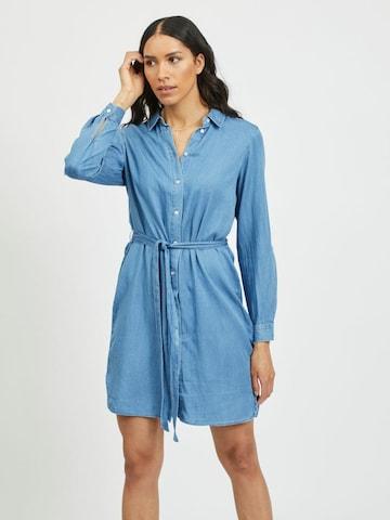 VILA Kleid 'VIBISTA' in Blau