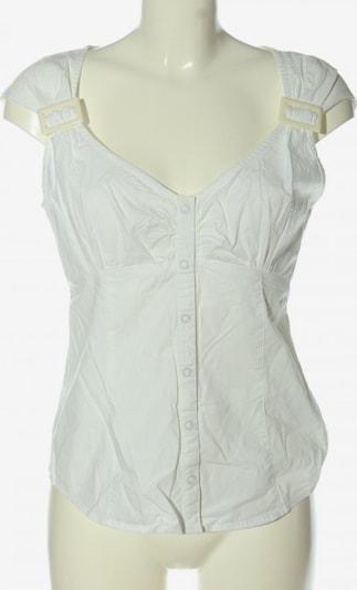 CHILLYTIME Kurzarm-Bluse in M in weiß, Produktansicht