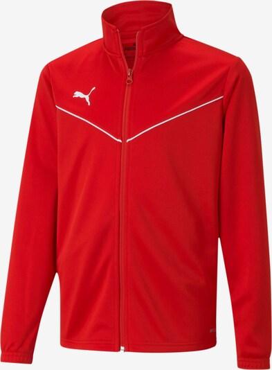PUMA Jacke in rot / weiß, Produktansicht