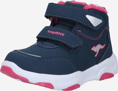 KangaROOS Stiefel in navy / pink, Produktansicht